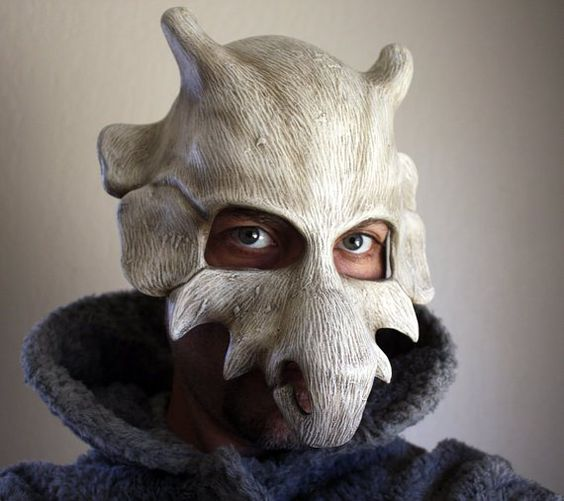 Don your very own Cubone skull mask