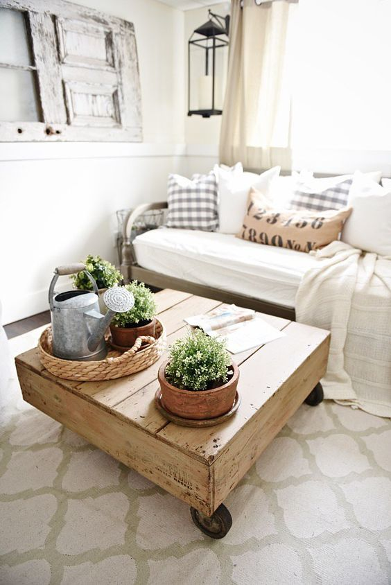 Diy Pallet Coffee Table Pallet Patio Diy Pallet And Coffee