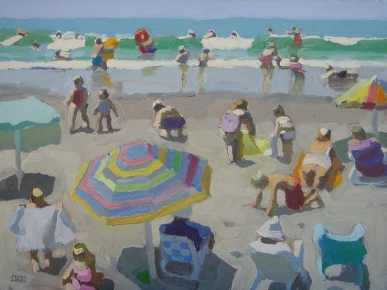 By Peggy-Kroll Roberts Perfect beach days memory!