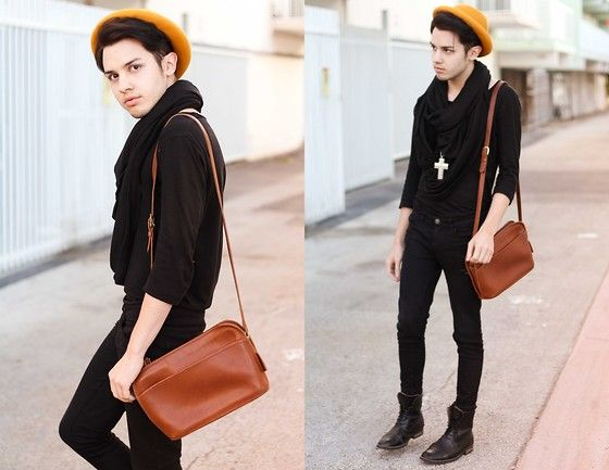 Mustard Accent.  (by Michael Sedgwick) http://lookbook.nu/look/4334441-Mustard-Accent