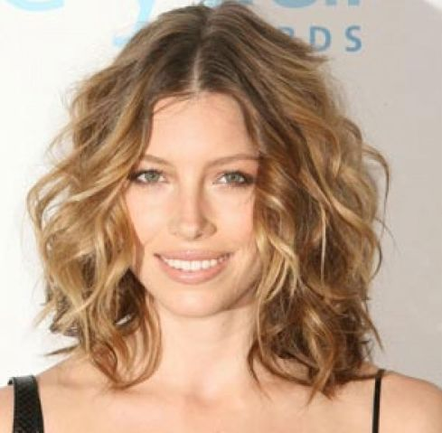 Groovy Long Bobs Bobs And Jessica Biel On Pinterest Hairstyle Inspiration Daily Dogsangcom