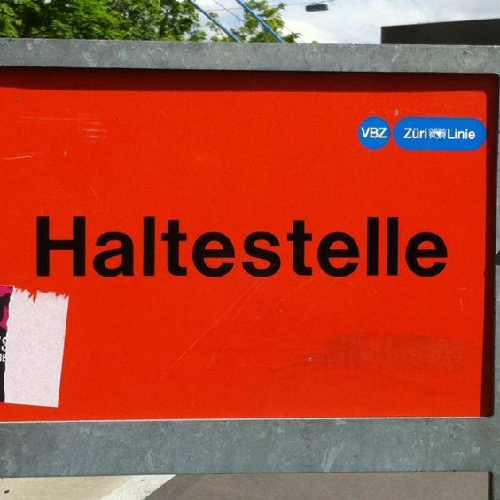 Irgendwo in Zürich ;-) #vbz picture