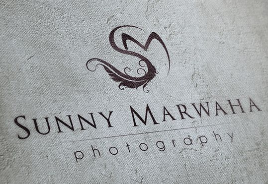 Sunny Marwaha Photography, logo design by evokeu. evokeu.com