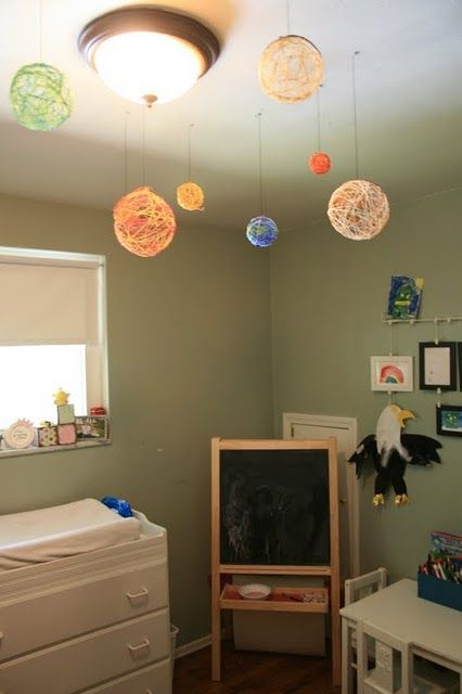 Embroidery Solar System
