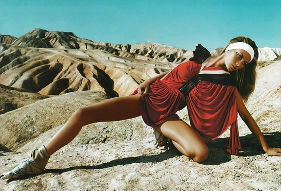 "Gisele Bündchen ""Death Valley"" by Trend council"