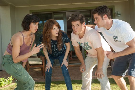 Photo of Anna Kendrick, Aubrey Plaza, Zac Efron and Adam Devine in Mike and Dave Need Wedding Dates