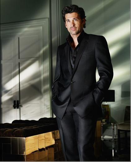What Hairstyle Suits Me Le Meilleur De Adorable Mens: Patrick Dempsey Pour Versace : Les Photos De La Campagne