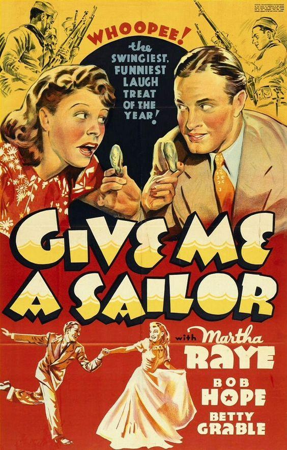 Give Me a Sailor (1938) Bob Hope, Martha Raye, Betty Grable