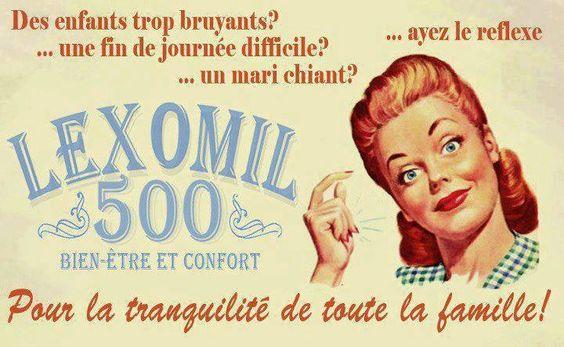 Lexomil #vintage