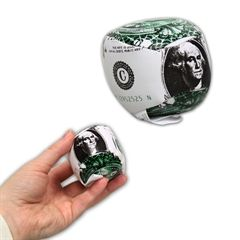 Dollar Bill Balls - 2 Inch, 12 Pack