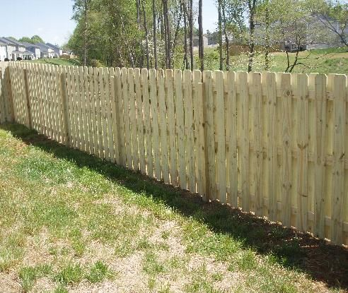 6 Foot Shadow Box Fence 4 Fences And Gates Pinterest