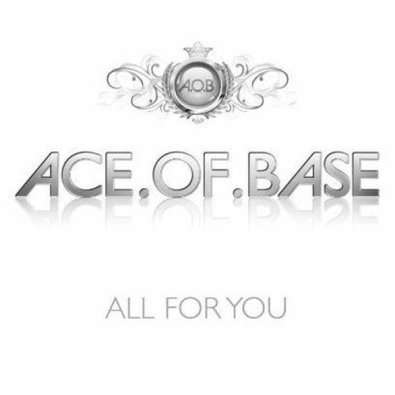 Ace of Base – All for You (single cover art)