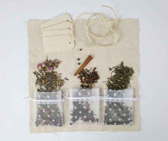 tea sachets: