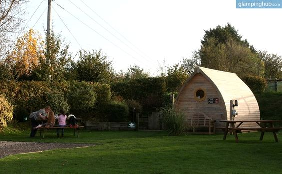 Eco-Pod Rental near Stonehenge