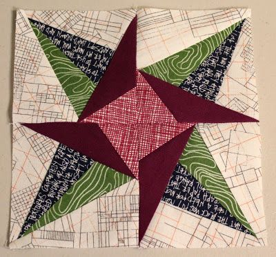 A Quilter's Table: Lucky Stars - January