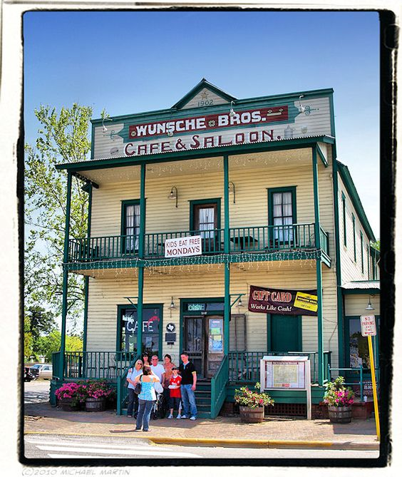 Wunsche Brothers Cafe Saloon Spring Tx