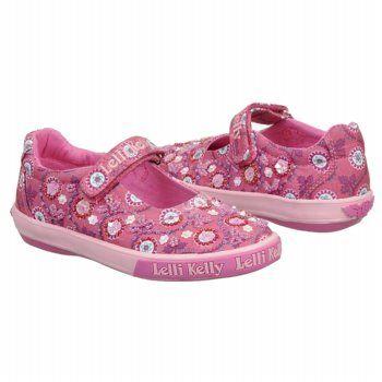 Lelli Kelly Poppy Dolly Tod/Pre Shoes (Fuchsia Fantasy) - Kids' Shoes - 30.0 M