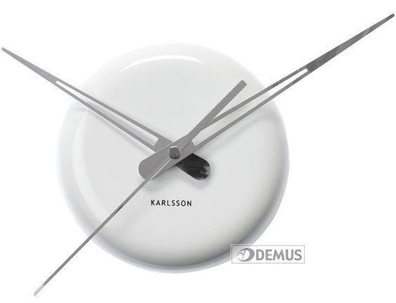 #Zegar ścienny #Karlsson Ceramic Dot White #KA5452WH #zegary