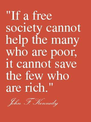 If a free society