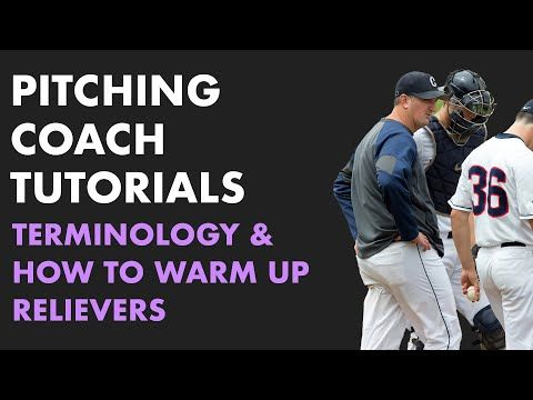 How Pro Pitching Coaches Get Relievers Warmed Up Youtube Baseball Workouts Pitching Drills Baseball Videos