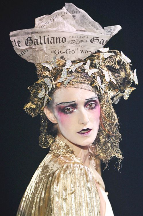 John Galliano | detail | spring 2010