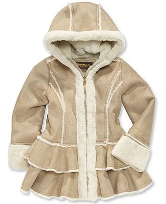 Hawke &amp Co. Kids Coat Little Girls or Toddler Girls Faux