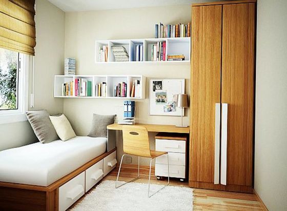 lavish small bedrrom ideas with stydy room furniture design