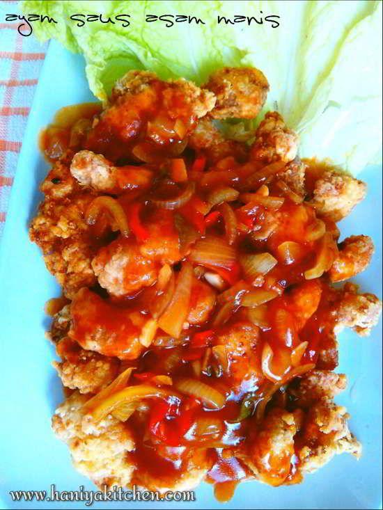 Resep Ayam Saus Asam Manis Resep Ayam Resep Resep Masakan