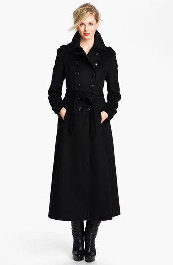 DKNY Doublt Breasted Military-Inspired Wool Maxi Coat | What to