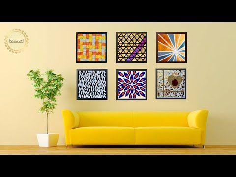 6 Hyper Easy Wall Art Ideas For Your Living Room Gadac Diy Home