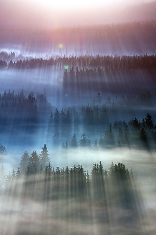 Explosion of light by Marcin Sobas on 500px