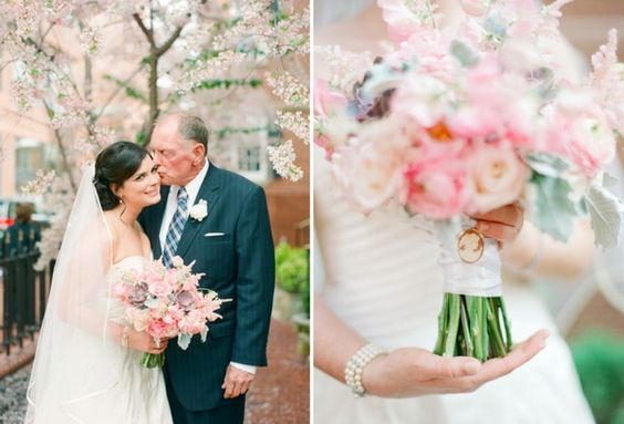 A Spring Wedding Day of Romance, Roses, and…Leashes!