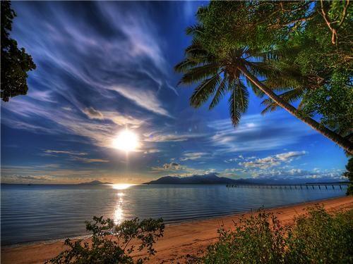 Queensland, Australia sunrise - lovely way to start the morning