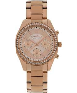 Buy Caravelle New York Ladies' Rose Chonograph Watch at Argos.co.uk, visit Argos.co.uk to shop online for Ladies' watches