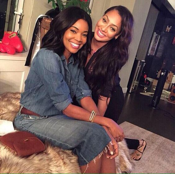 Gabrielle Union and LaLa Anthony