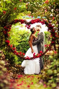 2014 Colorful Flowers Wedding Arch Decor Rustic Wooden