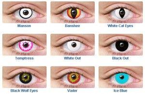 Wolf Eye Color Contacts Non Prescriptio...