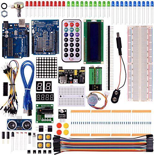 kuman projet super kit de dmarrage pour arduino uno r3 m