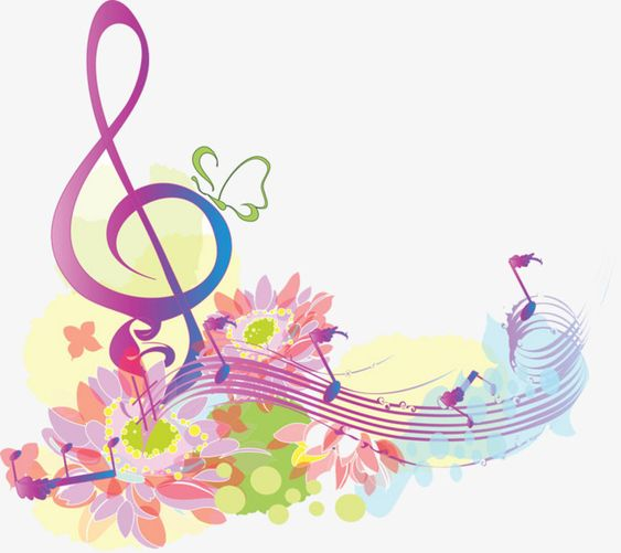 flowers,note,music,musical note,sound waves,creative note,musical,sound,waves,creative,flowers clipart,music clipart,symbol clipart,image clipart
