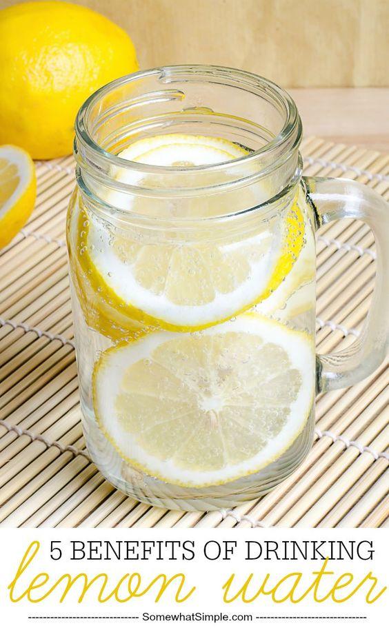 Lemon water benefits 66599