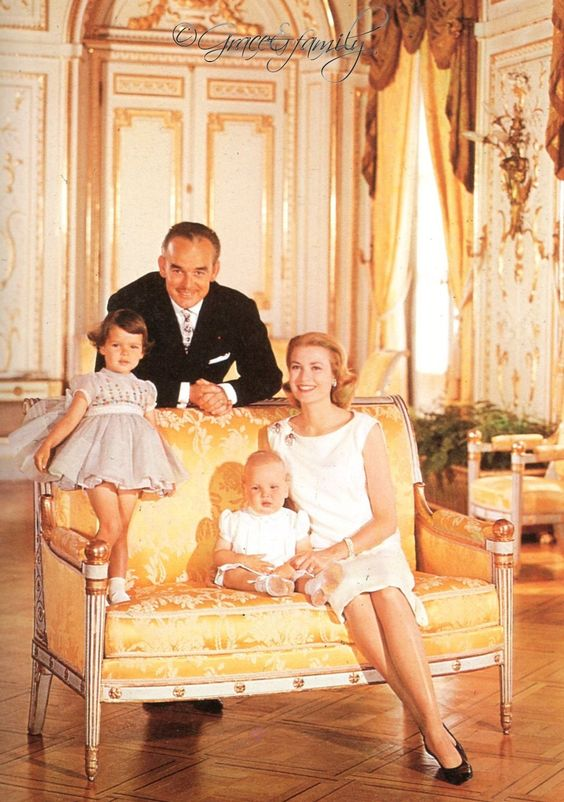 The Princely Family of Monaco — Portrait by Howell Conant. 1959.