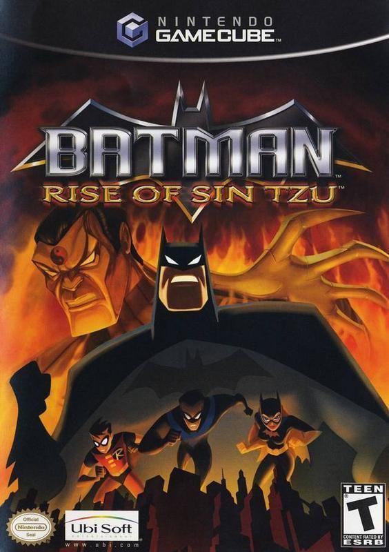 Batman Rise Of Sin Tzu Gamecube Batman Rises Xbox Games