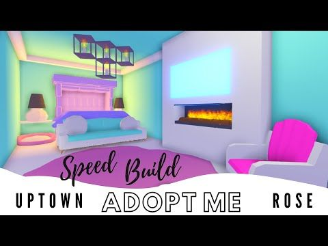 Adopt Me Speed Build Adopt Me Estate House Adopt Me Bedroom Adopt Me Building Hacks Youtube Cute Room Ideas Simple Bedroom Design Girly Bedroom