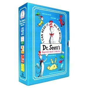 Dr. Seuss's Beginner Book Collection: The Cat in the Hat / One Fish, Two Fish, Red Fish, Blue Fish / Green Eggs and Ham / Hop on Pop / Fox in Socks: Amazon.de: Dr. Seuss: Englische Bücher