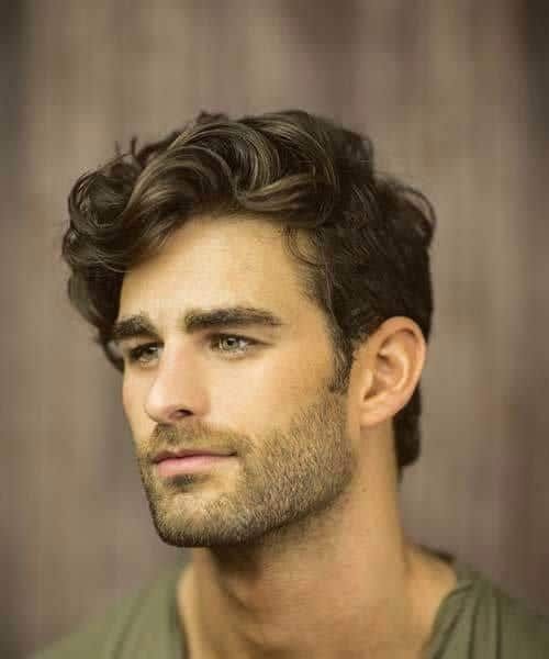 45 Suave Hairstyles For Men With Wavy Hair To Try Out Menhairstylist Com Wavy Hair Men Thick Hair Styles European Hair