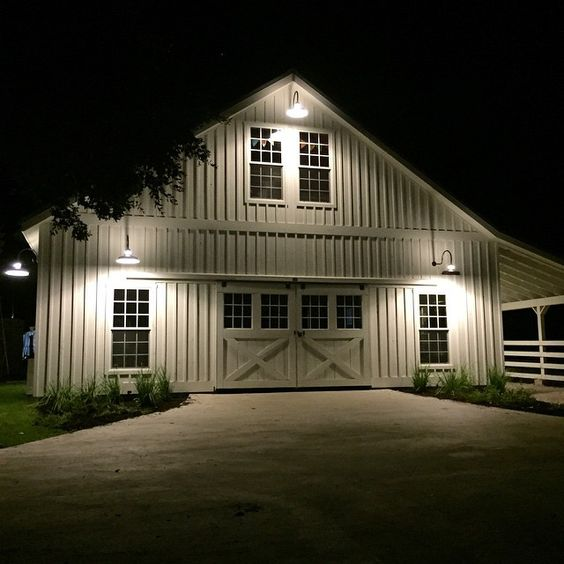 I Like The Farm At Night Homesweethome Barn By