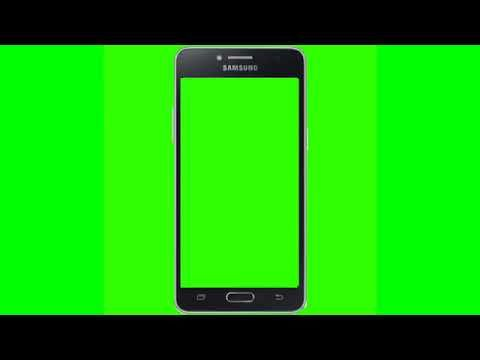 Green Screen Android Phone Frame Youtube Greenscreen Android
