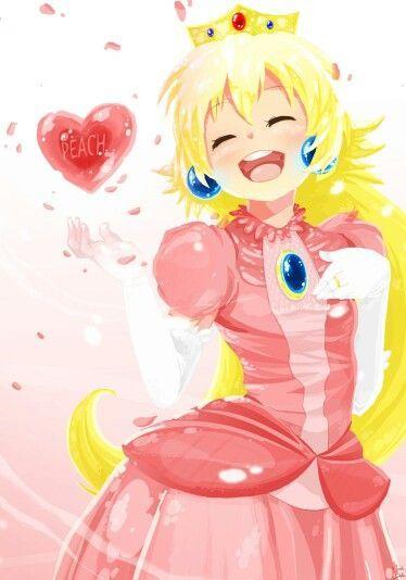 Peachy Princess Art by Rainemaster
