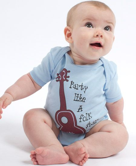 Party like a folk star! natural baby clothing