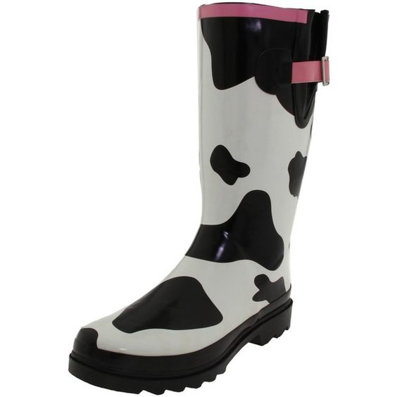 Cow print Rain boots!! I WANT!! | Cow Stuff | Pinterest | Cow